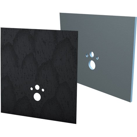 Kit habillage+finition Bâti-support Wedi I-Board carbon noir