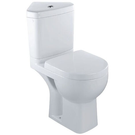 Pack WC angle ODEON UP S.H. 3/6L Alimentation latérale 75x36,5cm-Blanc