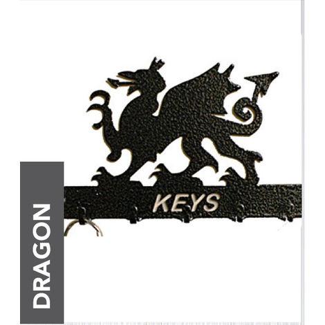 Welsh Dragon Key Holder