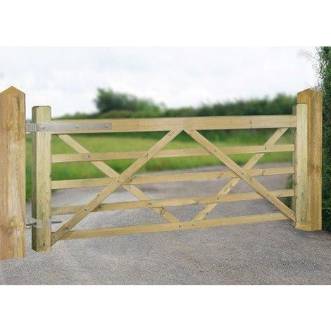 Evington Single Field Gate 1200mm High X 3600mm Wide