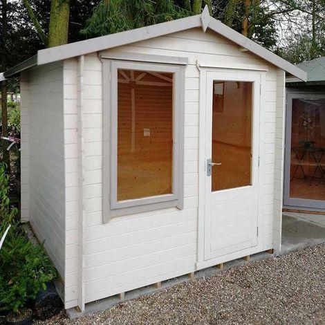 Peckover 19mm Log Cabin 8' x 8'