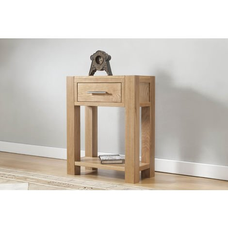Lucerne Small console with 1 drawer & shelf