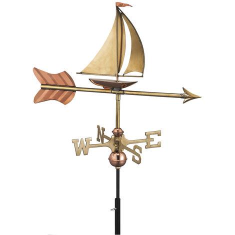 Cottage Yacht Copper Weathervane