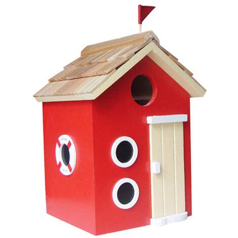 Bayside Beach Hut - Red