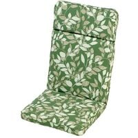 Cotswold Leaf High Recliner Cushion Outdoor Garden Furniture Cushion