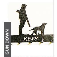 Gun Down Key Holder