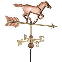 Cottage Horse Copper Weathervane