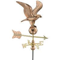 Cottage Eagle Copper Weathervane