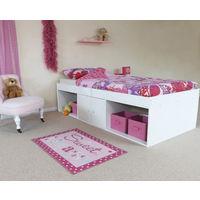 Kudl Low Sleeper Cabin Storage Bed