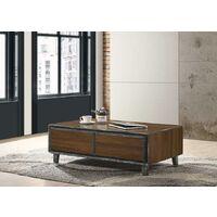 Bretton Walnut 3 Piece Living Room Furniture Set Coffee Table Sideboard TV Unit