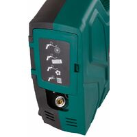 Compresor portátil VONROC 1100W - 8 bar - Sin aceite - 180 l/m - Incluye 11 accesorios