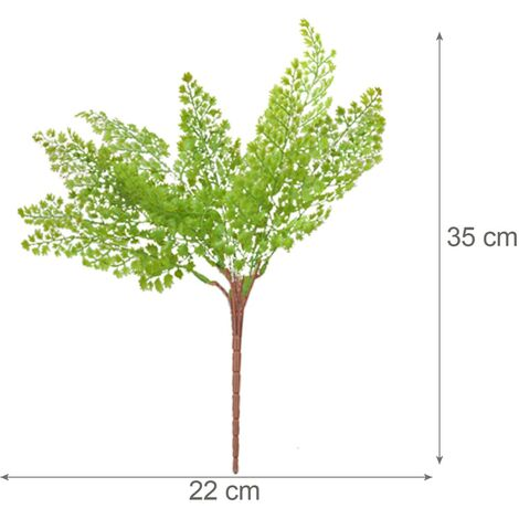Planta Artificial de Ramas de Helecho para Jardín Vertical Dos Unidades Hogar y Más
