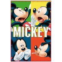 Manta polar infantil, Mickey Mouse