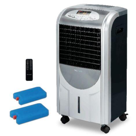 NEWTECK-Purificador de Aire para Hogar 4en1 con Aniones y Filtro Antipolen. F. Frío, Calor, Humidifica y Purifica. Incluye Mando