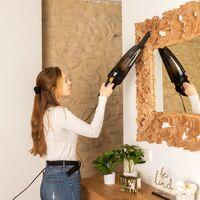 SAMBA Aspirador Vertical y de Mano DuoStick-Aspirador Escoba con cable 2 en 1, 800W, Sin Bolsa, Filtro HEPA, Capacidad 0.5L