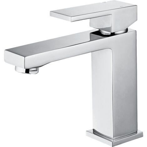 Angolo mitigeur lavabo bas chromé - Chromé