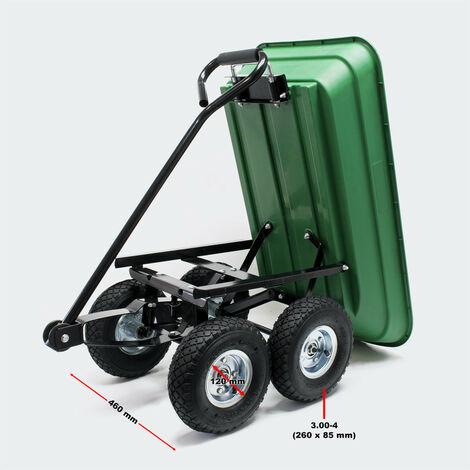 carrello giardino con inclinazione funzione di 55l Capacit