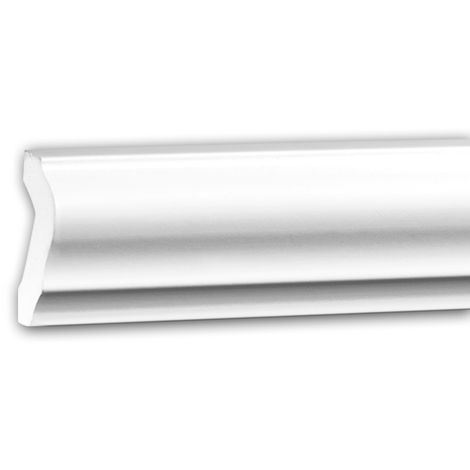 Panel Moulding 151375 Profhome Dado Rail Decorative Moulding Frieze Moulding Neo-Classicism style white 2 m