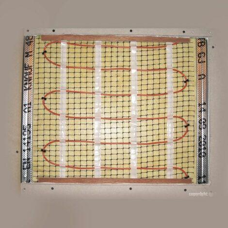 MUR CHAUFFANT ELECTRIQUE - Cable Kit Tram Mur-230V-180W-LF1,25ML et son isolant support