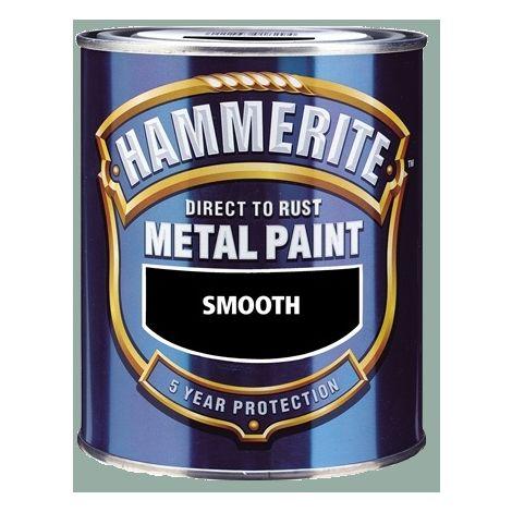 Hammerite - Smooth Direct to Rust - 750ML - Secret Lagoon