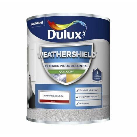 Dulux Weathershield Quick Dry Gloss PBW 750ml