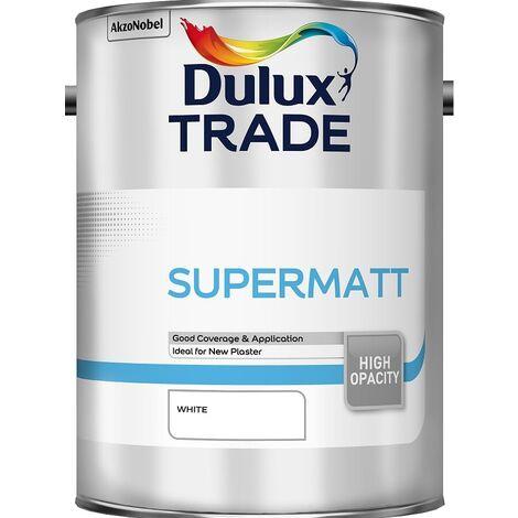 Dulux Trade Supermatt - White - 5L