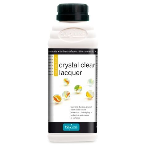 Polyvine - Crystal Clear Lacquer Satin - 500ml