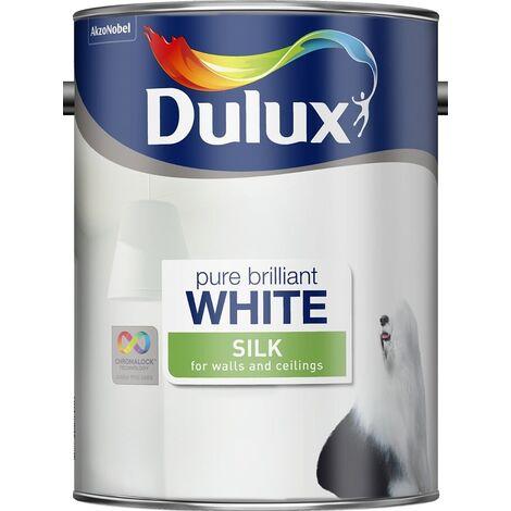 Dulux Retail Silk - Pure Brilliant White - 5L