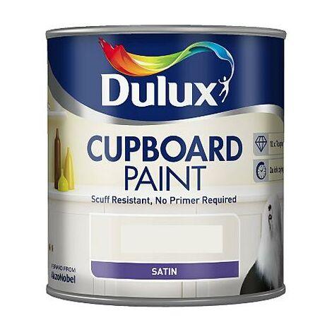 Dulux - Retail Cupboard Paint - 600ml - PURE BRILLIANT WHITE