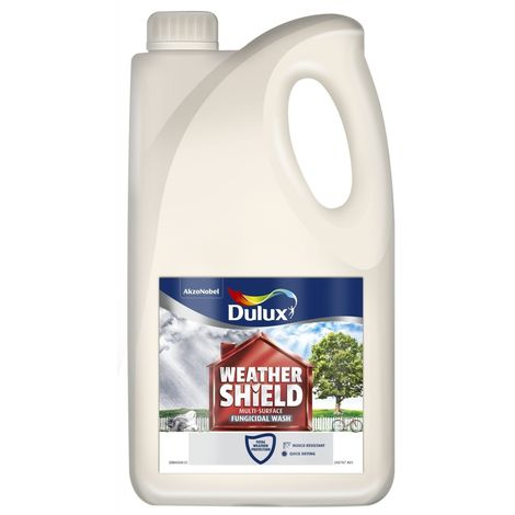 Dulux Weathershield Multi-Surface Fungicidal Wash 2.5L