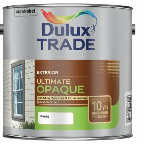 Dulux Trade Ultimate Weathershield Opaque White 2.5L