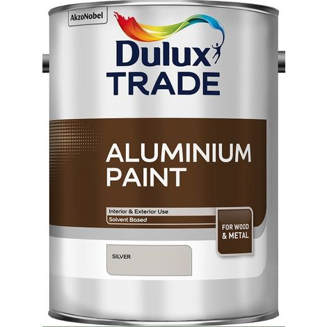 Dulux Trade Aluminium Paint 5 Litres