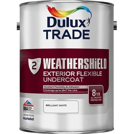 Dulux Trade Weathershield Undercoat Brilliant White 5L