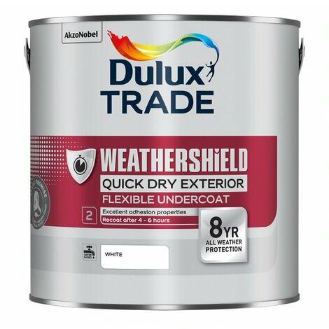Dulux Trade Weathershield Quick Dry Undercoat PBW 2.5L