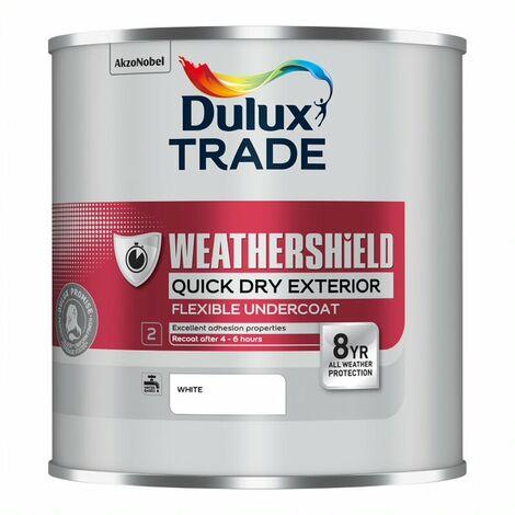 Dulux Trade Weathershield Quick Dry Undercoat PBW 1L