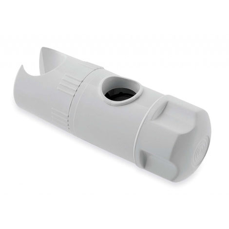 MX Height Shower Head Adjuster - Standard White Holder