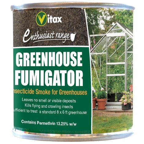 Vitax Greenhouse Fumigator Insecticide Smoke For Greenhouses - 3.5g