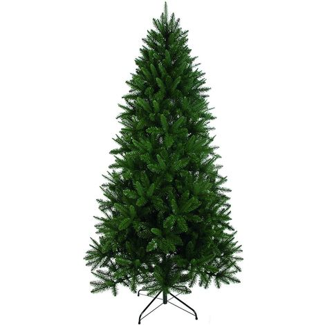Rockingham Pine Artificial Christmas Tree - Green - 780 Tips - 180cm (6 Foot)
