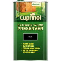 Cuprinol Exterior Wood Preserver Black 5L