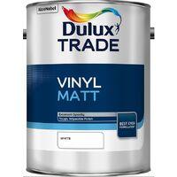 Dulux Trade Vinyl Matt - White - 5L