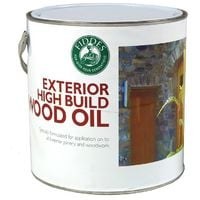 Fiddes - Exterior High Build Wood Oil - Contains UV Filters - 1 Litre