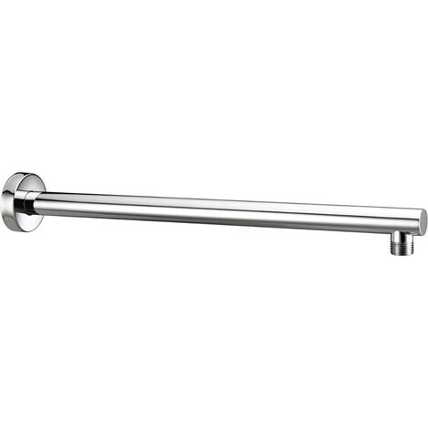 Bristan Round Wall Mounted Shower Arm, 430mm Length, Chrome