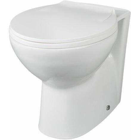 Nuie Melbourne Back to Wall Toilet 520mm Projection - Excluding Seat