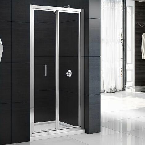 Merlyn Mbox Bi-Fold Shower Door 700mm - 4mm Clear Glass