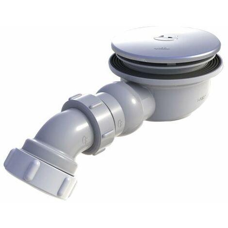 AKW Low Depth GW90 Gravity Shower Waste