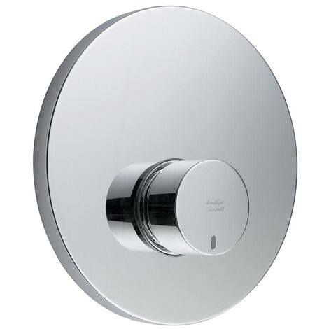 Armitage Shanks Avon 21 Self Closing Shower Valve with Concealing Plate Non Mixing - Chrome