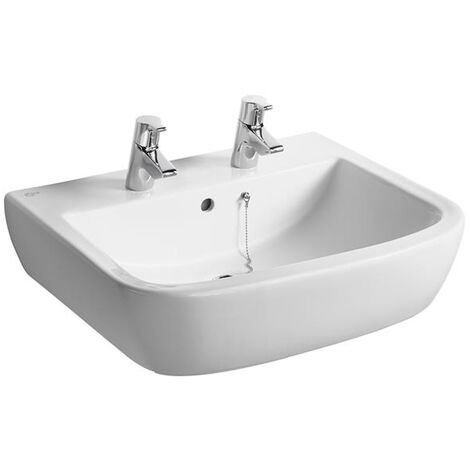 Ideal Standard Tempo Washbasin 600mm Wide 2 Tap Holes