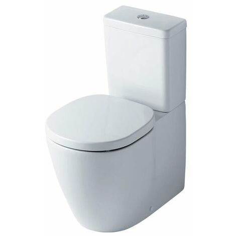 Ideal Standard Concept Aquablade Cube Close Coupled Back to Wall Toilet Cistern Slim Standard Seat