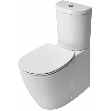 Ideal Standard Concept Aquablade Arc Close Coupled Back to Wall Toilet Cistern Slim - Standard Seat