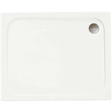 Merlyn MStone Rectangular Shower Tray with Waste 1500mm x 800mm - Stone Resin